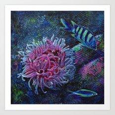 Aquatic (2 of 3) Art Print