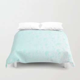Carbonated Water Duvet Cover