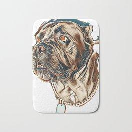 cane Corso dog        - Image Bath Mat