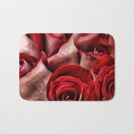 Velvet Roses Bath Mat