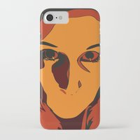 horror iPhone & iPod Cases featuring Horror by Square Lemon