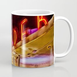 Clevelander Hotel South Beach Miami Portrait Coffee Mug