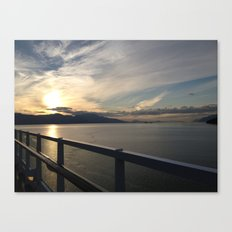 Setting Dream Canvas Print