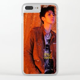 exo oh sehun lotto 2016 kpop Clear iPhone Case