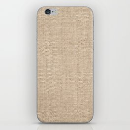 Old canvas material iPhone Skin