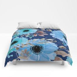 FLOWERS WATERCOLOR 26 Comforters