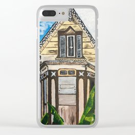 Old Woodbrook House Clear iPhone Case
