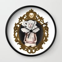 lucy Wall Clocks featuring Lucy by Cisternas