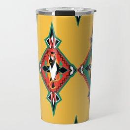 Felino Azteca Travel Mug