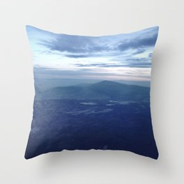 Santa Fe Blues Throw Pillow