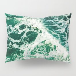 Green Seas Pillow Sham