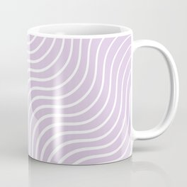 Whiskers Light Purple & White #713 Coffee Mug