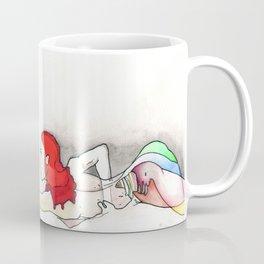 Firewords, nude female figure, NYC artist Coffee Mug