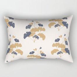 Gold Flower 1 Rectangular Pillow