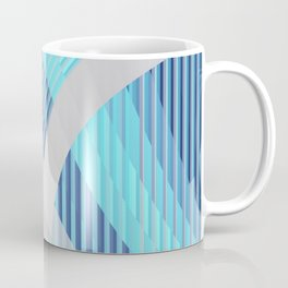 Resonance (blue-aqua) Coffee Mug