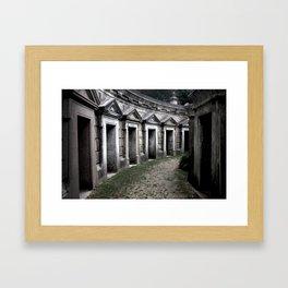 Cemetery 2 Framed Art Print