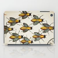 medieval iPad Cases featuring Medieval Swarm by Vintage Avenue