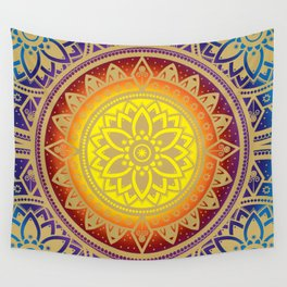 Mandala Infinite Light Spiritual Zen Bohemian Hippie Yoga Mantra Meditation Wall Tapestry