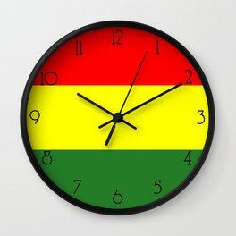 IRIE RASTA Wall Clock