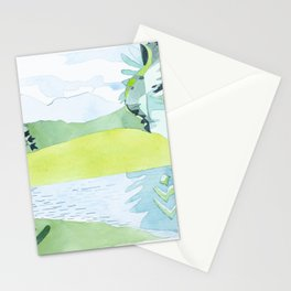 Bigelows from Stratton Brook Pond, Maine Stationery Cards