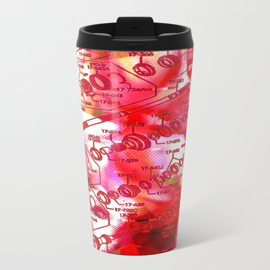 Forget It < The NO Series (Red) Metal Travel Mug