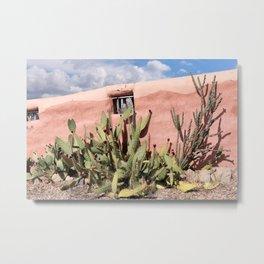 Hacienda Wall Metal Print