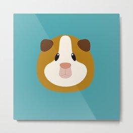 Guinea Pig Metal Print