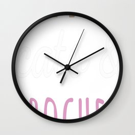 Crochet t-shirt Wall Clock