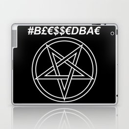 TRULY #BLESSEDBAE INVERTED Laptop & iPad Skin
