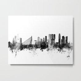 Rotterdam The Netherlands Skyline Metal Print