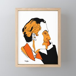 Gershwin Framed Mini Art Print