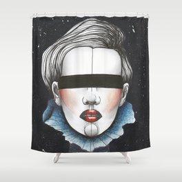 Space Princess Shower Curtain