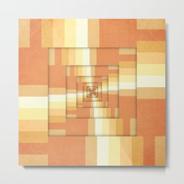 Slices of Orange Metal Print