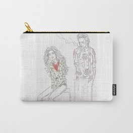 Alabama & Clarence Carry-All Pouch