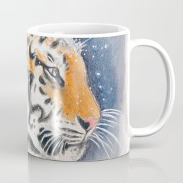 Tiger In The Snow Coffee Mug
