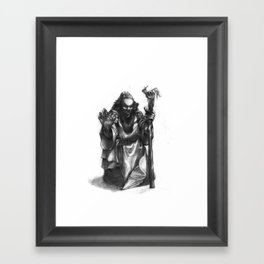 Dwarven Cleric Framed Art Print