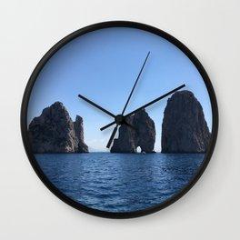 Tunnel of Love, Capri Wall Clock