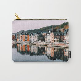 VILLAGE - HOUSE - RIVER - REFLECTION - PHOTOGRAPHY Carry-All Pouch