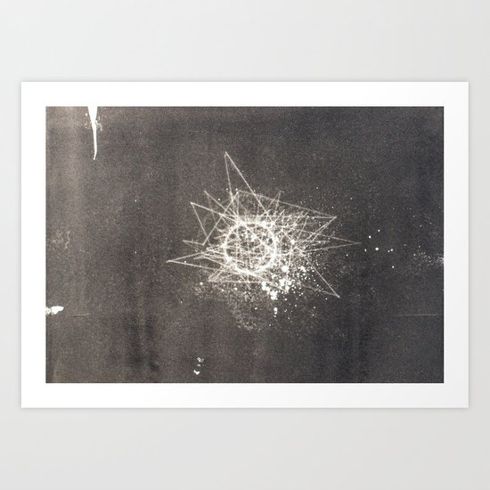 Empty Space Art Print