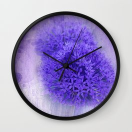 dreaming lilac -7- Wall Clock