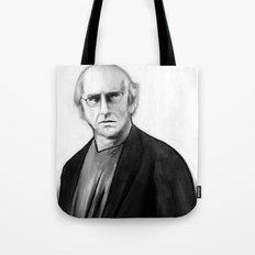 DARK COMEDIANS: Larry David Tote Bag