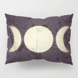 Triple Moon Goddess Pillow Sham