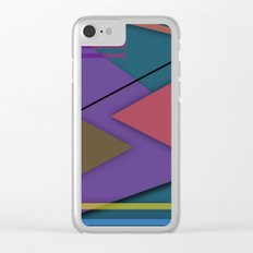 Abstract #413 Clear iPhone Case