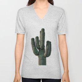 Cactus Wall Art, Saguaro Wall Art, Boho Wall Decor Unisex V-Neck