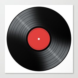 Music Record Canvas Print