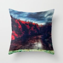 Last Witch | Musical Crime Productions | Unique Photography of Nature Throw Pillow