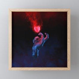 The Fleeting Heart Framed Mini Art Print