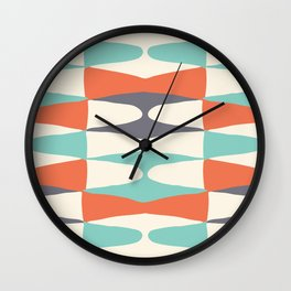 Zaha Retro Juice Wall Clock