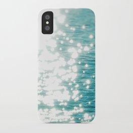 Sun glitter iPhone Case