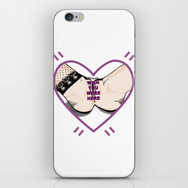 Wish you were here iPhone Skin